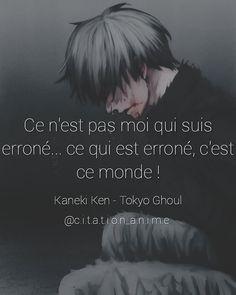 Ken Tokyo Ghoul, Manga Quotes, Kaneki, Anime, Black Butler, Motivation, Sad, Messages, Sleeves
