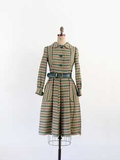 1960s Coat Dress / Vintage Neiman Marcus Dress by 86Vintage86, $225.00
