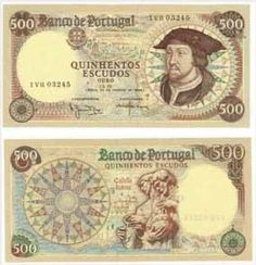 Notas de Portugal e Estrangeiro World Paper Money and Banknotes: Portugal Old Coins, Rare Coins, Nostalgia, Money Worksheets, Money Notes, Coin Collecting, Postage Stamps, Childhood Memories, Vintage World Maps