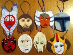 Star Wars Felt Christmas Ornaments - OCCASIONS AND HOLIDAYS