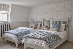 Our top tips for designing children's bedrooms start by choosing classic furniture that will stand the test of time. If you can, buy proper… Attic Renovation, Attic Remodel, French Country Bedrooms, Coastal Bedrooms, Classic Furniture, House, Living Spaces, Bedroom Decor, Interior Design