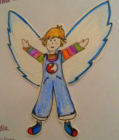 Ali per volare - una bella favola C'era una volta un bambino che desiderava ali per volare...aveva visto un bruco trasformarsi in farfalla e prendere il volo! Alla mattina gli uccellini sui rami degli alberi si libravano verso il cie #fiaba #ali #volare #bambini