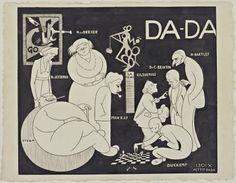 Richard Boix. Da-da (New York Dada Group). 1921  Link to Dada article at MOMA