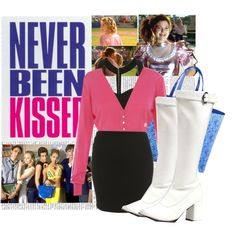 21.Never Been Kissed by italian-londonlover on Polyvore featuring Matthew Williamson, Louis Vuitton and EDEN