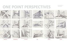 one point perspectives