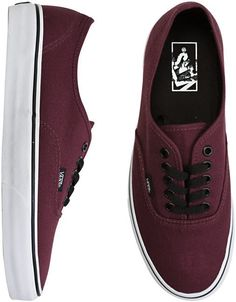 Oh maroon vans I want some