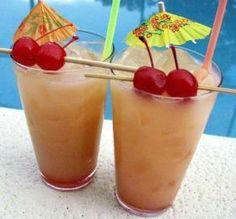 """Tropical Rum Punch: """"This was a great drink — sweet and tropical. It packs a punch but goes down smoothly, so watch out!"""" -loof"""