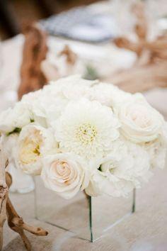 Ojai Wedding from Yvette Roman Photography + Sterling Social All White Wedding, Mod Wedding, Floral Wedding, Wedding Reception, Wedding Flowers, Dream Wedding, Reception Ideas, Wedding Table, Wedding Colors