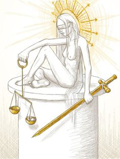 Lady Justice by Marristia.deviantart.com on @deviantART