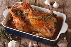 Poulet rôti croustillant et moelleux de ma grand-mère 3 Ingredient Chicken Recipes, Chicken With Prosciutto, Easy Christmas Candy Recipes, Homemade Christmas, Chick Fil A Sauce, Good Roasts, Homemade Seasonings, Popsicle Recipes, Roasted Chicken
