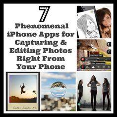 Take Your Best Shot! 7 Phenomenal iPhone Photo Apps #spon #everydaymobileprinting #hp_create