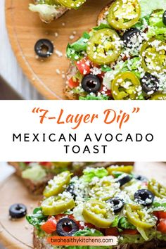 The beloved flavors of 7-Layer Dip … in a delicious Mexican Avocado Toast recipe! Piled high with big flavors and great nutrition, this turns typical breakfast avocado toasts into a perfect option for lunch, dinner, or even game day noshing! Mashed Avocado, Avocado Toast, Delicious Recipes, Healthy Recipes, Drink Recipes, Mexican Avocado, Layer Dip, Good Food, Yummy Food