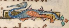 Detail from The Luttrell Psalter, British Library Add MS 42130 (medieval manuscript,1325-1340), f263v