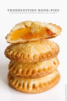 Thanksgiving Hand-Pies via Real Food by Dad #thanksgiving #recipe #squash