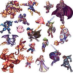 Super Smash Brothers Brawl.