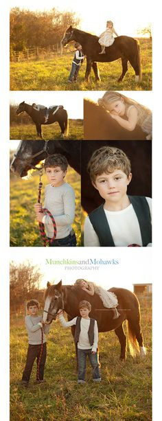 I love this whole session, the last one is a gorgeous piece of artwork... and what a cute way to capture siblings!!