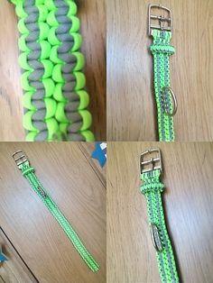 Adjustable Puppy Paracord Collar. $25.00, via Etsy.