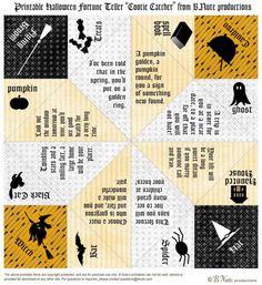 downloadable customizable printable paper fortune teller template event ideas pinterest. Black Bedroom Furniture Sets. Home Design Ideas