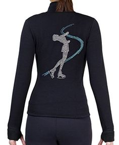 Figure Skating Polar Fleece Fitted Jackets by Polartec with Rhinestones R234 Review