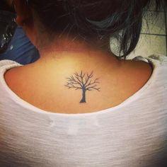 awesome Top 100 Tattoo Tree | #tree #tattootree#smalltattoos Check more at http://4develop.com.ua/top-100-tattoo-tree/