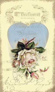 Vintage Rose Ephemera