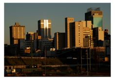 Newtown, Johannesburg – the city of gold - A1 print paper
