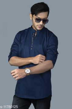 Shirts Comfy Retro Men Shirts Fabric: Cotton Blend Sleeve Length: Long Sleeves Pattern: Solid Multipack: 1 Sizes: S (Chest Size: 39 in, Length Size: 27.5 in)  XL (Chest Size: 45 in, Length Size: 30 in)  L (Chest Size: 43 in, Length Size: 29 in)  M (Chest Size: 41 in, Length Size: 28 in)  Country of Origin: India Sizes Available: S, M, L, XL, XXL   Catalog Rating: ★4.3 (404)  Catalog Name: Pretty Fashionable Men Shirts CatalogID_2231413 C70-SC1206 Code: 394-11780125-1521