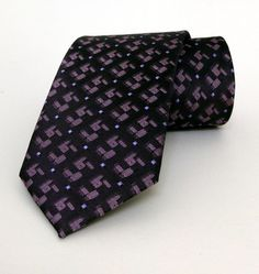 Purple Mens Tie 7 cm (2,76 #handmadeatamazon #nazodesign