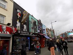 Camden High Street Camden Town, Times Square, London, Street, Pictures, Photos, Roads, Walkway, London England