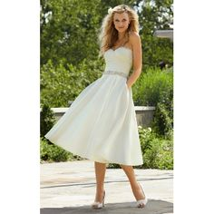 [ $102.99 ]Short Sweetheart Luxe Soft-ruched Taffeta  Wedding Dress
