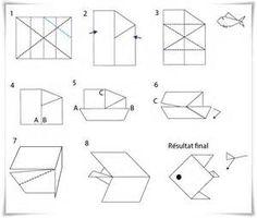 origami facile avion all about origami flora and fauna. Black Bedroom Furniture Sets. Home Design Ideas