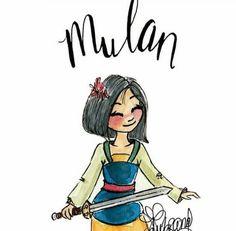 Adorable Mulan