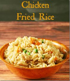 Perfect Chicken Fried Rice - Yours And Mine Are Ours - We found the secret to perfect fried rice..every..single..time!