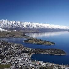 Remarkables covered in snow