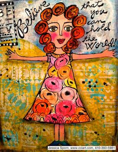 Jessica Sporn Designs: Five Ways to Rescue an Art Journal Page