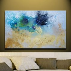 ORIGINAL acrylic painting Art ABSTRACT Painting by by studiomosaic, $199.00