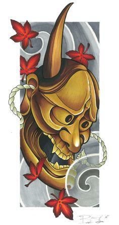Image of Hannya Mask (Fall series)