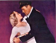 """The Sea Chase"", 1955 - Lana Turner and John Wayne"