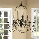 Found it at Joss & Main - Petra 9-Light Candle Chandelier