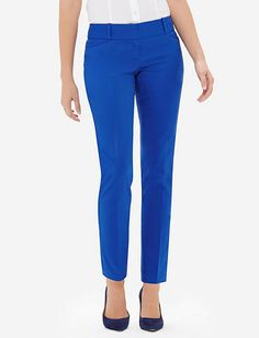 Sateen Pencil Pants from THELIMITED.com