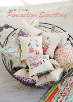 Free pattern - Pinchushion 2017 SewAlong – Minki's Work Table