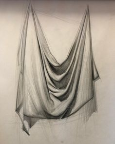 #demo #sketch #duties 💩 Pencil Sketch Drawing, Pencil Shading, Pencil Art Drawings, Art Drawings Sketches, Drawing Ideas, Still Life Sketch, Still Life Drawing, Drapery Drawing, Fabric Drawing