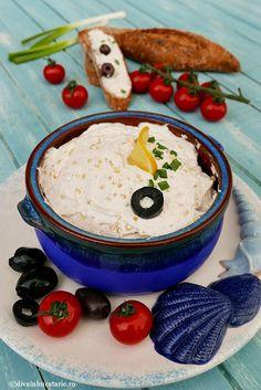 Salata de icre de stiuca cu gris este spornica, economica si as spune ca nu se taie daca avem grija Hummus, Diva, Lunch, Ethnic Recipes, Food, Pisces, Salads, Eat Lunch, Essen