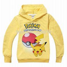 2-9 Year Old Pokemon Go Unisex Sweatshirt The World Of Pokemon Go