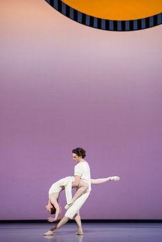 """Quand Benjamin Millepied m'a proposé de participer à la création de """"Daphnis et Chloé"""", j'étais très touchée et ravie de retravailler avec lui sur une création... Qu'il me propose ensuite de rester à l'Opéra comme maître de ballet alors que je ne l'avais pas prévu me touche infiniment par la confiance qu'il m'accorde""""."""
