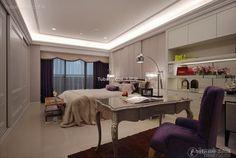 Neo-classical beautiful bedroom decoration 2015