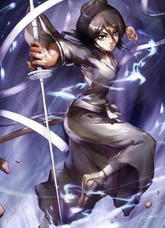Lieutenant of the 13th Division Rukia Kuchiki from Bleach