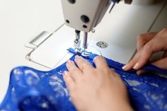 The slip stitch is frequently called for in sewing directions. Learn how a slip stitch is sewn with these step-by-step instructions and pictures. Embroidery Machine Reviews, Sewing Machine Stitches, Sewing Machine Reviews, Easy Sewing Projects, Sewing Hacks, Sewing Tips, Sewing Lessons, Sewing Tutorials, Sewing Ideas