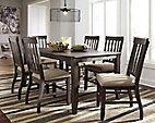 Grayish Brown Dresbar Dining Room Table View 1