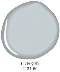 Benjamin Moore Silver Gray 2131-60 More